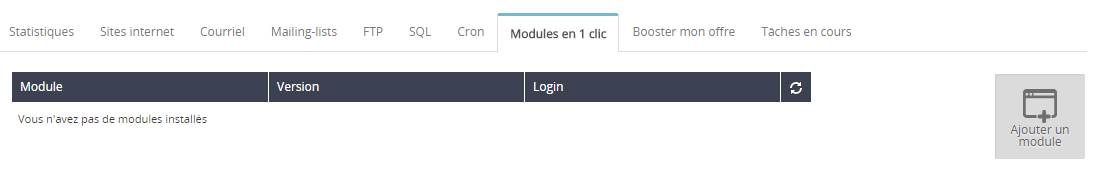 installation de wordpress OVH