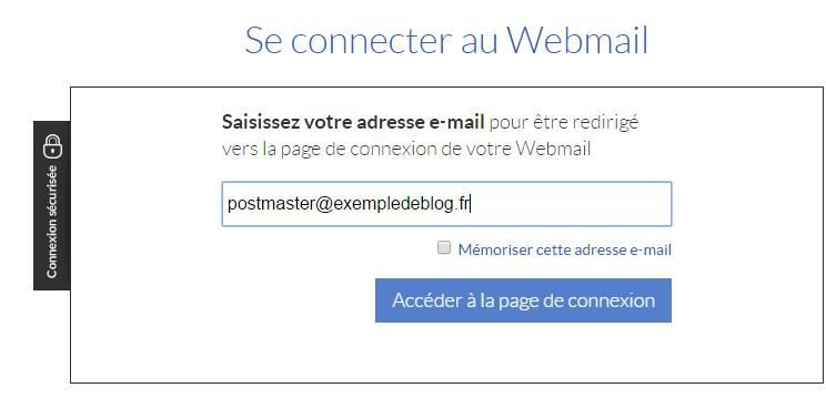connexion webmail