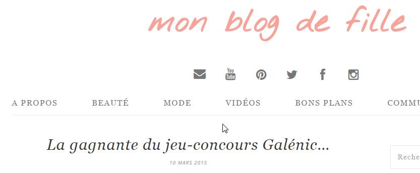 article concours
