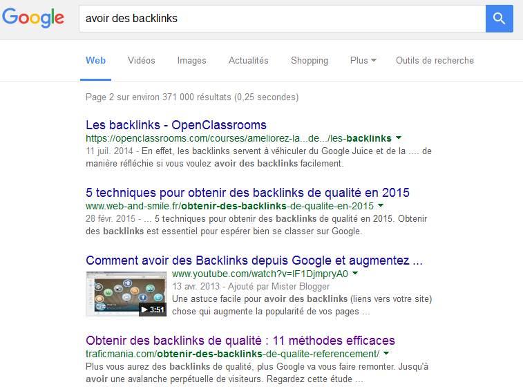 Google aime les sites crédibles