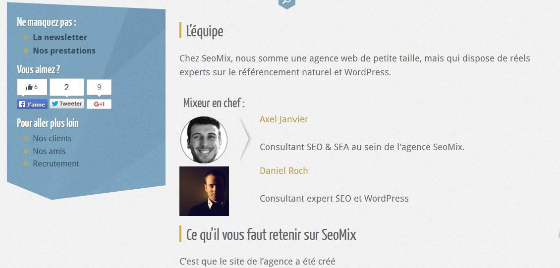 page a propos du blog seomix