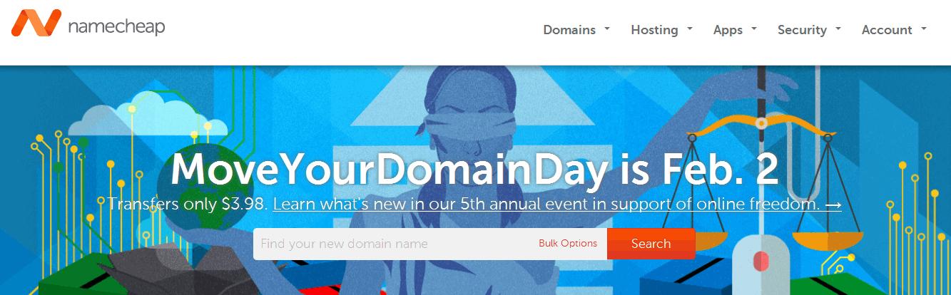 acheter un nom de domaine uniquement