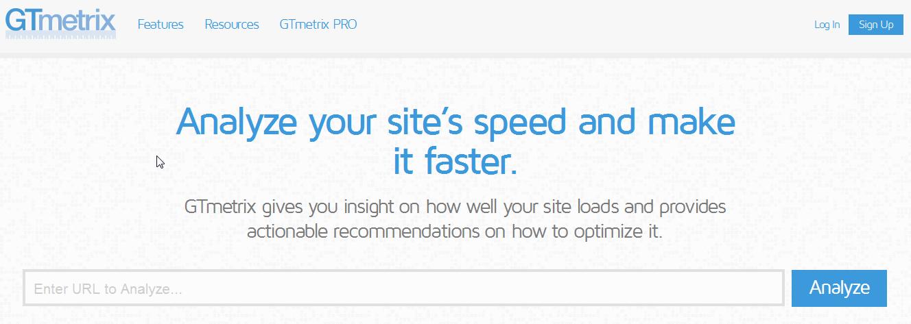 mesurer la vitesse de chargement d'un site