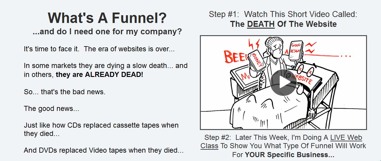 construire un tunnel de vente