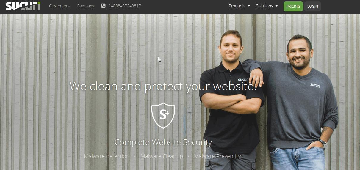 protection haut de gamme de site internet