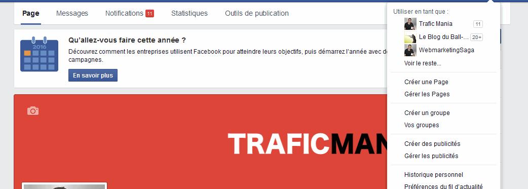 procédure de création de groupe facebook