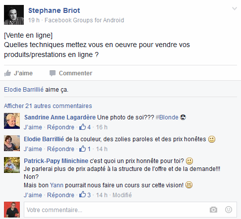 comment animer un groupe Facebook