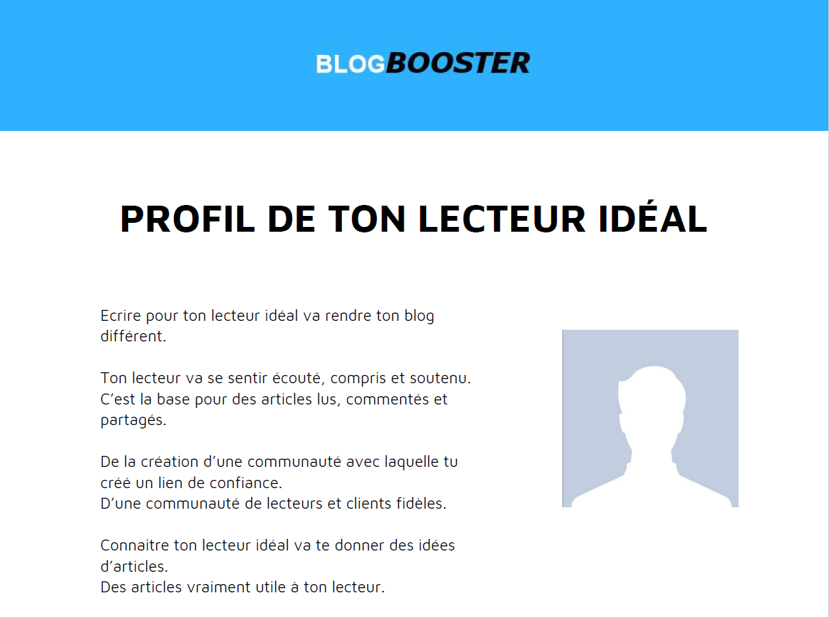 prfil client ideal sur blogbooster