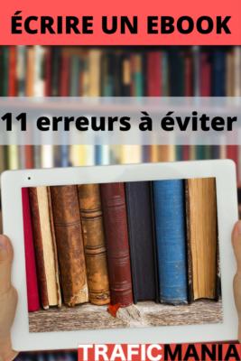 écrire un e-book les 11 pièges à éviter