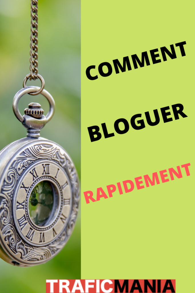 Comment bloguer quand on  a pas le temps